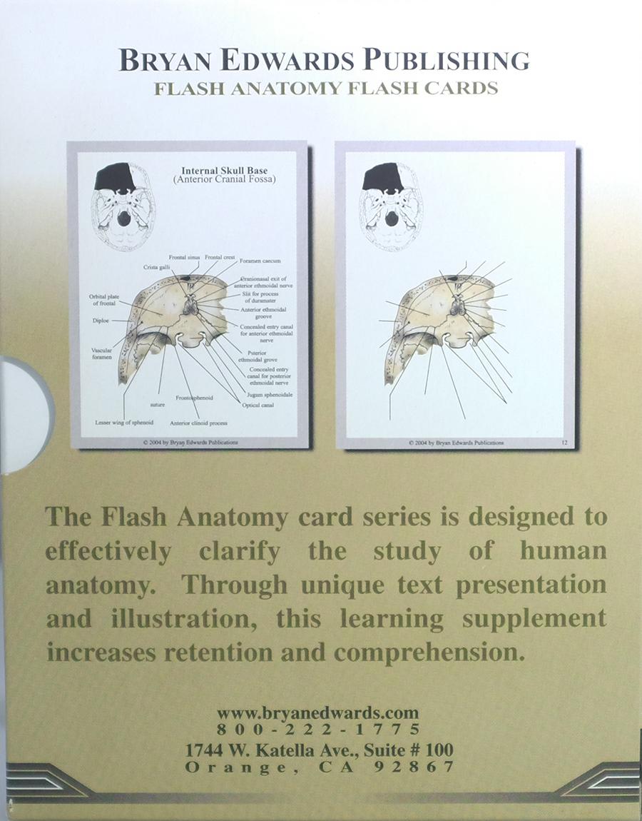 Bones Flash Cards | Bryan Edwards Publishing
