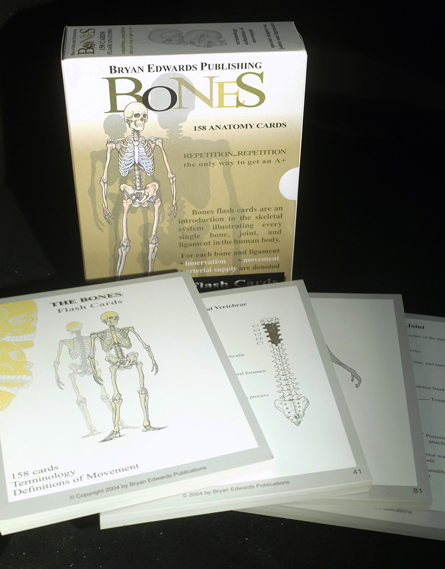 Bones Flash Cards | Bryan Edwards Publishing